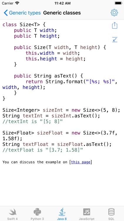 Code samples [HD]