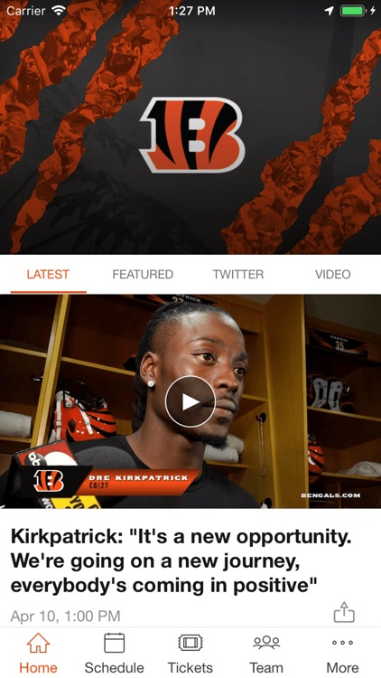 Cincinnati Bengals screenshot-1