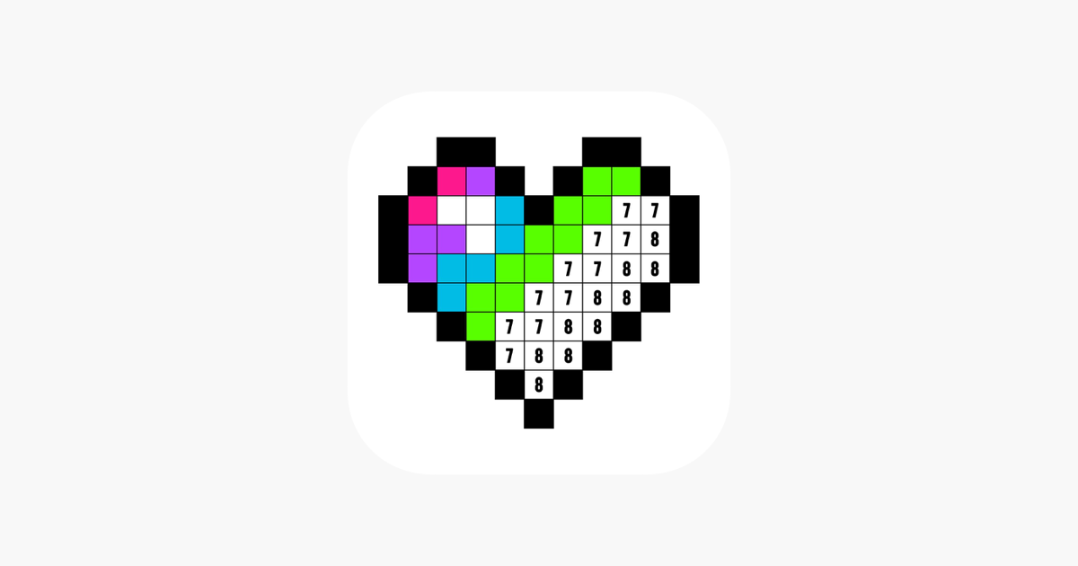 Color By Numbercoloring Games On The App Store