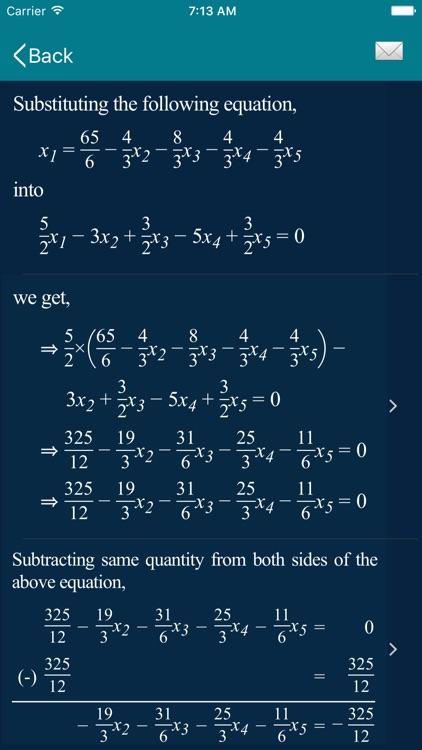 Math Equation Solver - ESolver screenshot-6