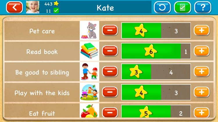 Chore Chart & Rewards for Kids