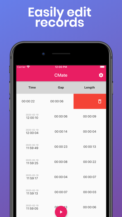 CM: Contraction Timer/Monitor Screenshots
