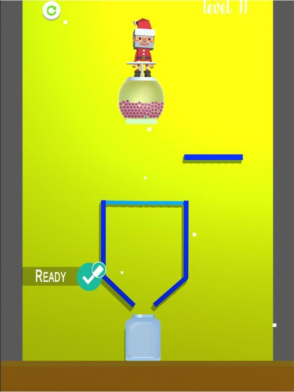 sand balls fill color 3D screenshot 1