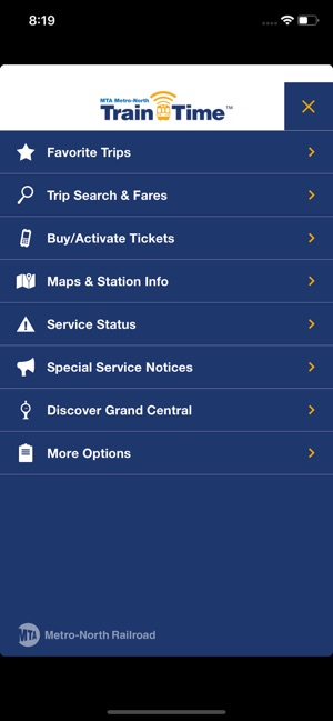 Metro-North Train Time on the App Store