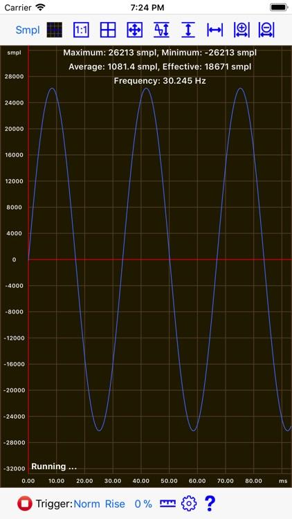 Mobile Oscilloscope screenshot-3
