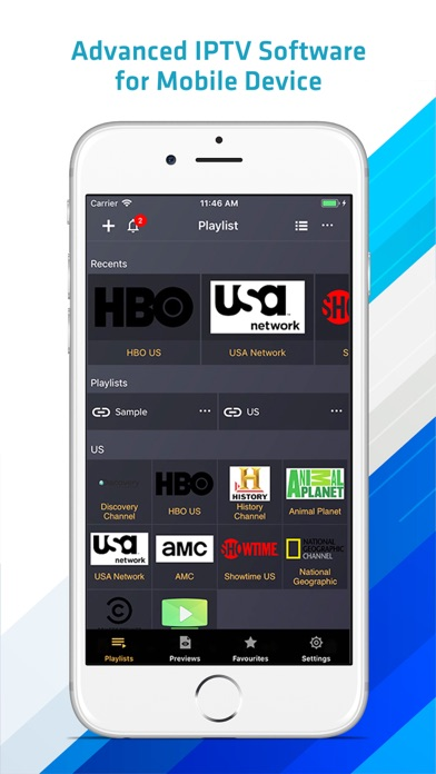 Screenshot IPTV Player Pro: play m3u file
