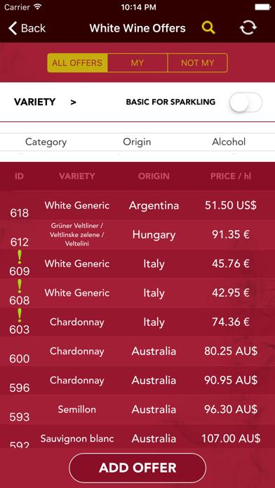 e-Vino screenshot two