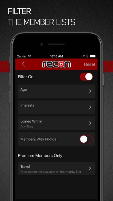 Recon review screenshots