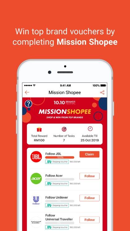 ShopeeMY 10.10 Brands Festival screenshot-4