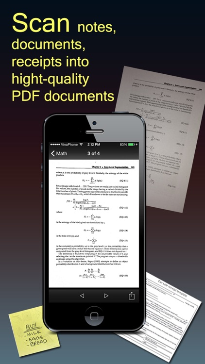 Fast Scanner : PDF Doc Scan screenshot-0