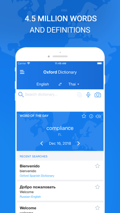 Oxford Dictionary & Translator