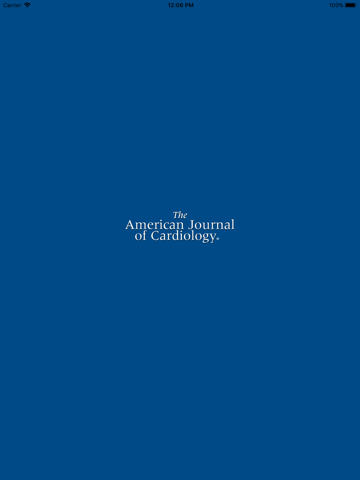 American Journal of Cardiology - náhled