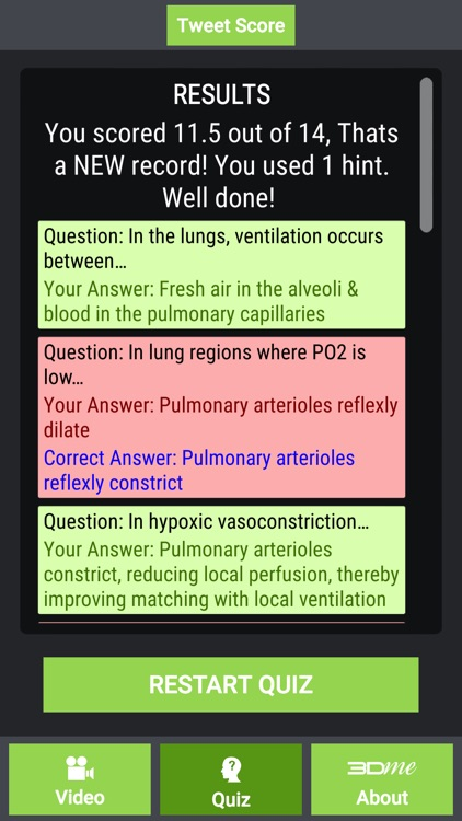 Ventilation Perfusion Matching screenshot-4