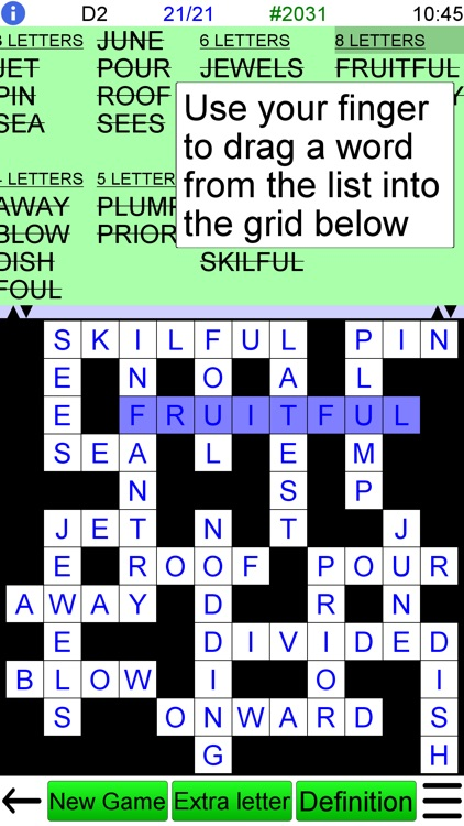 Word Fit Puzzle + screenshot-1