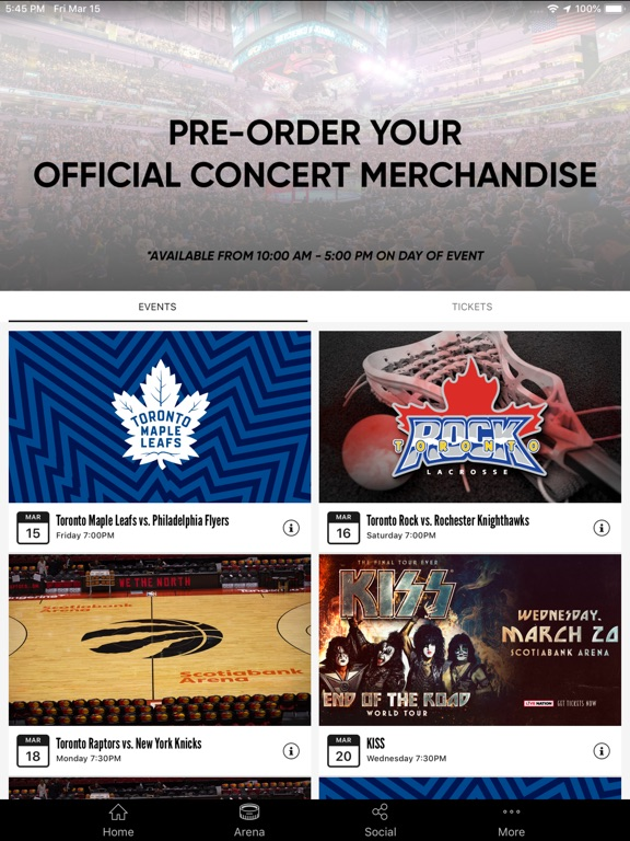 Scotiabank Arena App | Apps | 148Apps