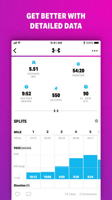 Map My Walk By Under Armour review screenshots