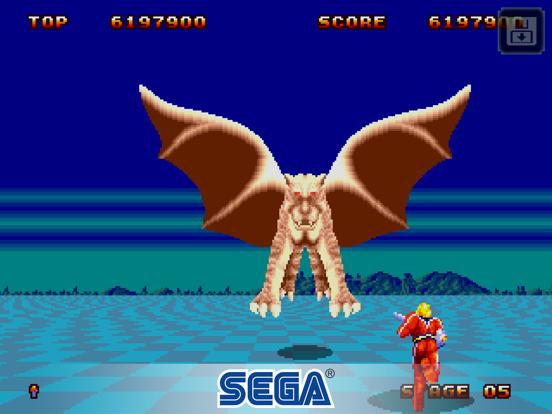 Space Harrier II Classic screenshot #4
