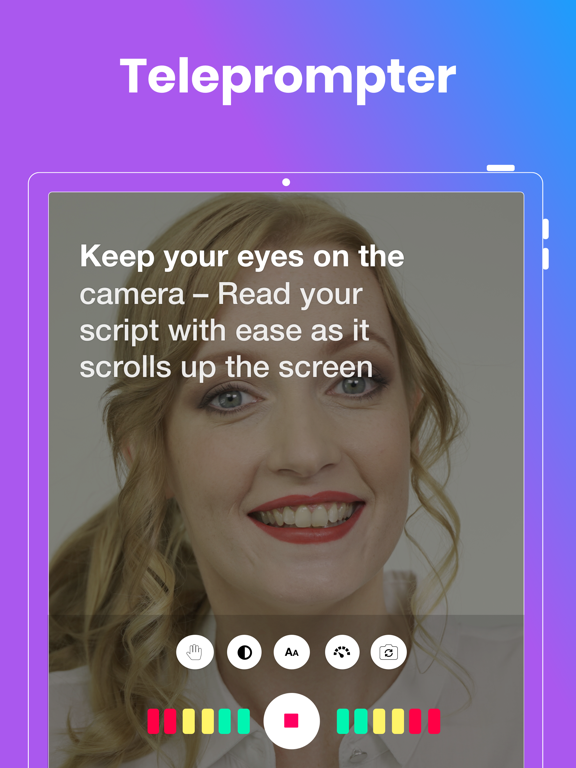BIGVU Teleprompter & Captions screenshot