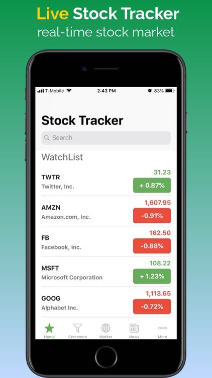 Stock Tracker - Stocks Market screenshot-0