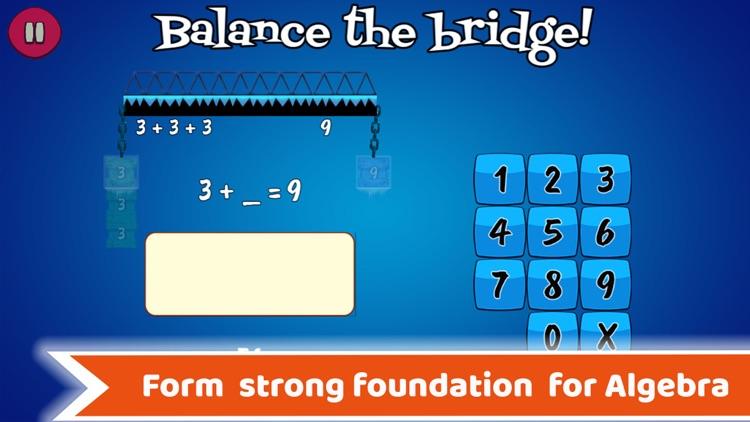 Math Balance Grade 2 - 4 Games