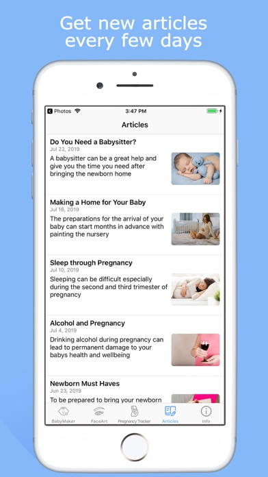 BabyMaker & Pregnancy Tracker Screenshot