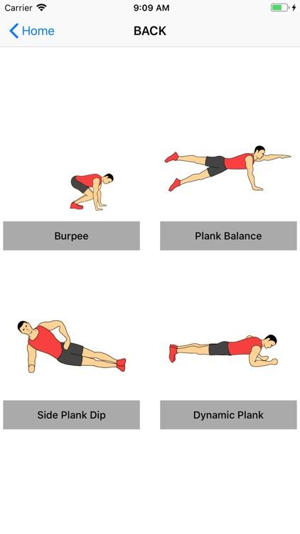 Home Workout Fitness screenshot-3
