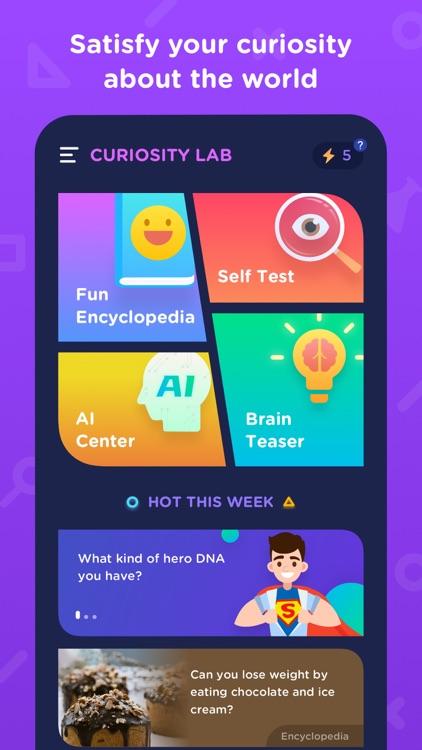 Curiosity Lab-Fun Test screenshot-5