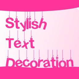 Stylish Text Decoration