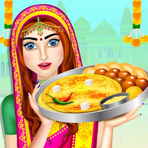 Cooking Indian Food Cafe