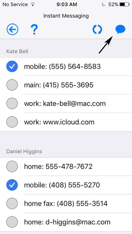 Courier - Group Messaging screenshot-3