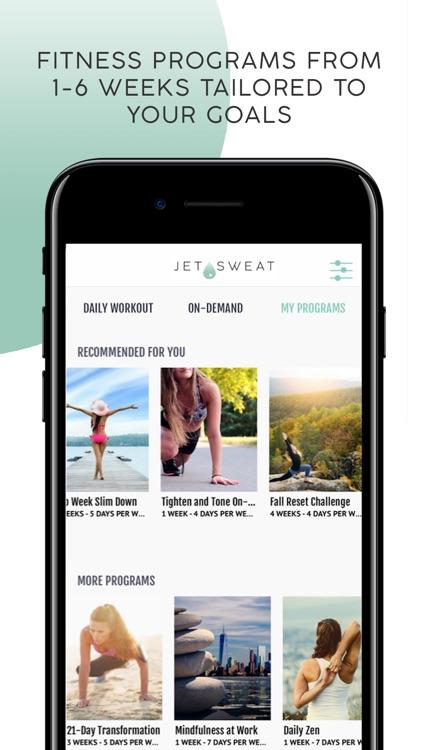 JETSWEAT: Workouts On Demand screenshot-7