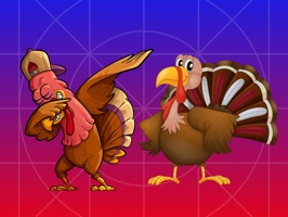 Here is a new pack of Thanksgiving stickers