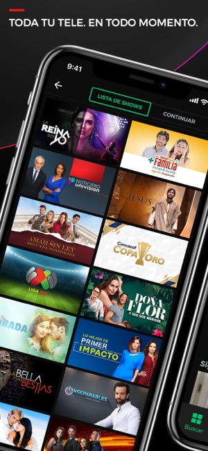 UnivisionNow En Vivo/On Demand on the App Store