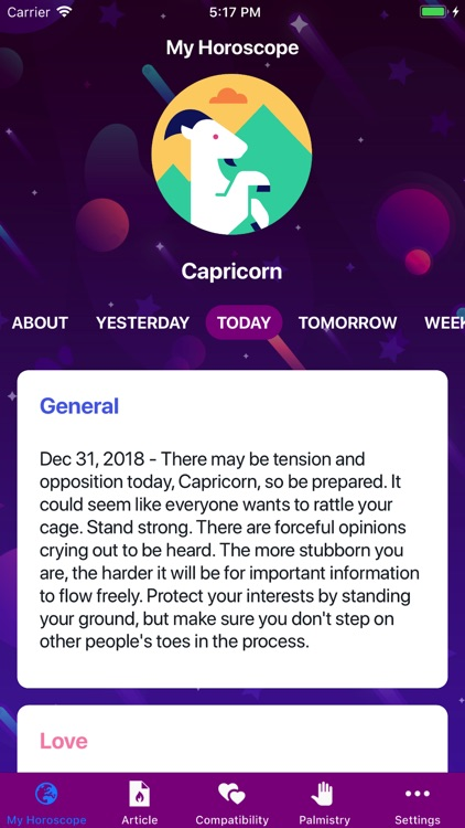 Horoscope 2020! screenshot-1