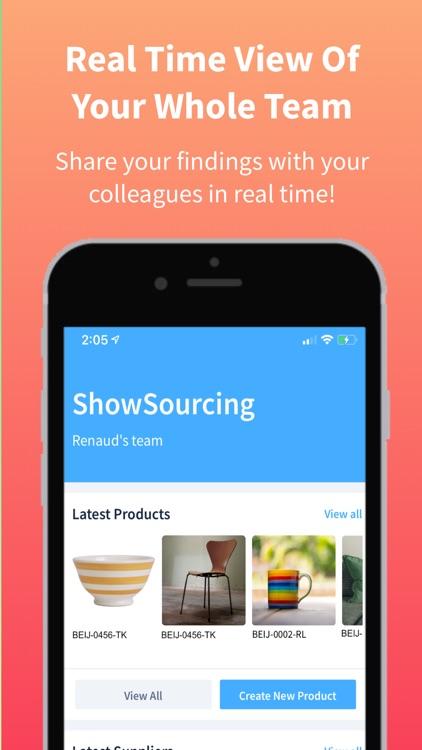 ShowSourcing - Sourcing App screenshot-5