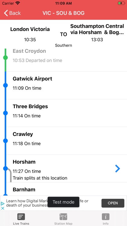 Train Times - Station Boards screenshot-3