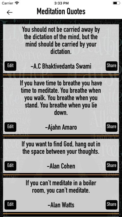 Relaxing meditation music screenshot-3