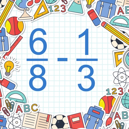 Math Shot Subtract Fractions