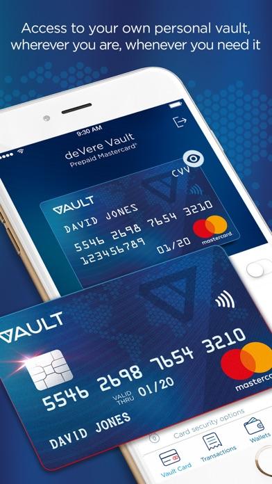 Vault E-Money screenshot one