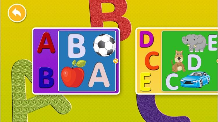 Swanky Alphabet Puzzle Games screenshot-4