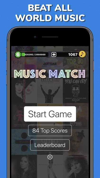 Music Match - pair songs quiz screenshot-3