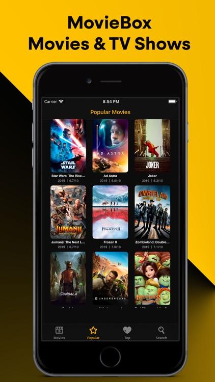 MovieBox Movies & TV Shows