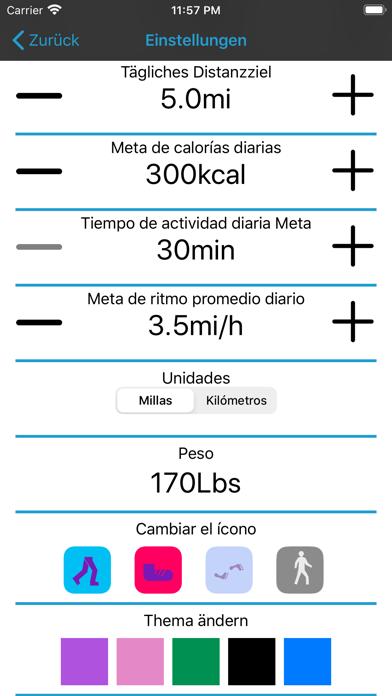 Pedometer Daily Steps CounterScreenshot von 2