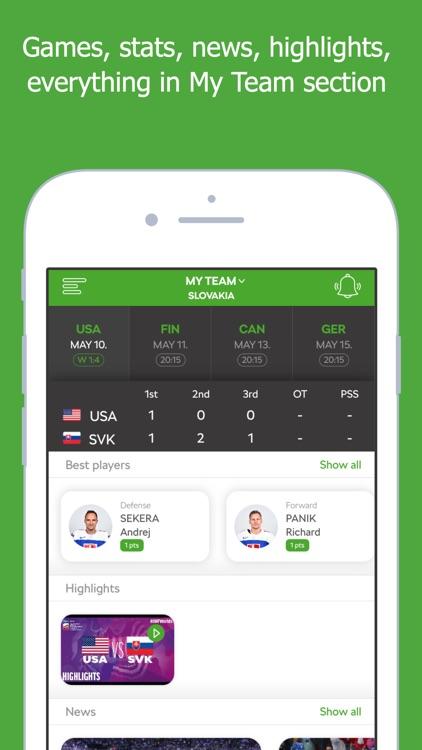 2019 IIHF powered by ŠKODA screenshot-4