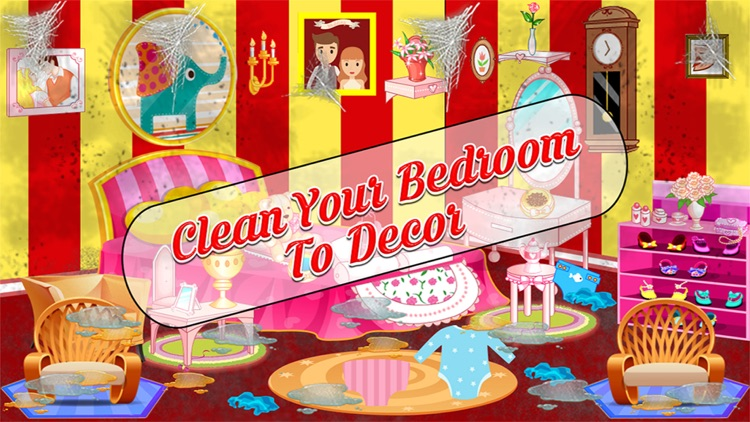 Girl Messy Home Clean Up Games screenshot-3