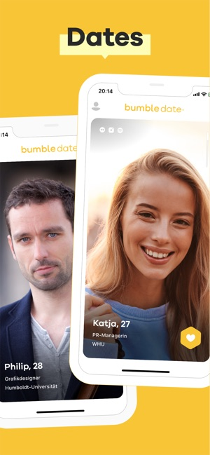 Weibliche Online-Dating-App
