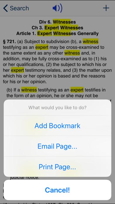 CA Evidence Code 2020 screenshot four