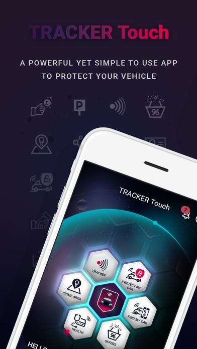 TRACKER Touch screenshot one