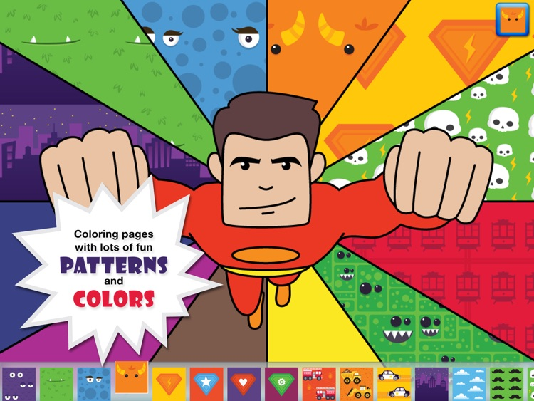 Superhero Comic Book Maker HD screenshot-4