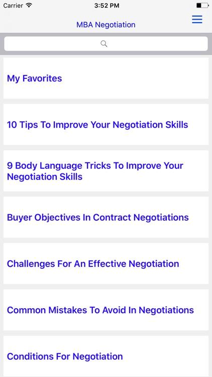 MBA Negotiation - screenshot-4